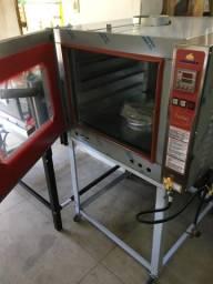 Forno turbo gás para padarias