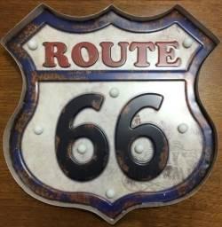 Painel luminoso route 66