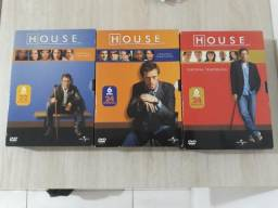 Vendo temporada de DR. House 1, 2,3