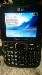 Celular LG Quad Chip 4
