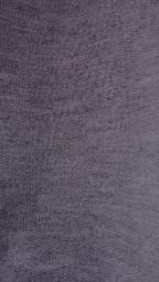 Lote 10 kg tecido moletom, cor cinza Tam variados