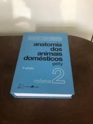 Livros de Medicina Veterinária (dois livros)