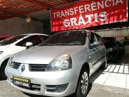 1 - Renault Clio 1.0 flex 2010, ar condicionado - 2010
