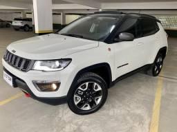 Jeep Compass Trailhawk 2.0 4x4 diesel / Teto solar, high-tech, a mais completa! - 2017