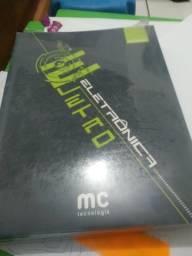 Kit de livros para curso de técnico em informática microcamp com 14 unidades