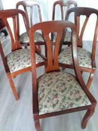 Jogo de Cadeiras Antigas