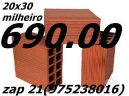 Tijolos de Campos/Compre aqui direto da Fábrica