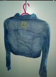 Jaquetas curta jeans