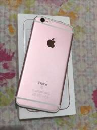 IPhone 6s 64GB Rosê Impecável completo