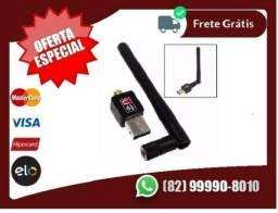 È.variedade.de.Preços- Adaptador Usb Wifi 600mbps Antena s