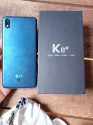 Lg k8 + na caixa
