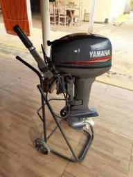 Vendo barco e motor Yamaha 15 - 2014