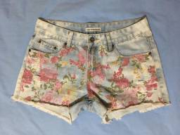 Short jeans florido, 36