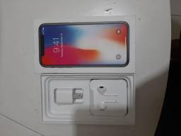 V/t IPhone X 256 Gb top completo