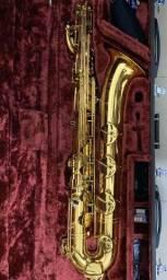 Saxofone Barítono Yamaha YBS-62 Raro estado de conservação