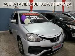 Recuse IMITAÇÕES! R$1MIL DE ENTRADA(TOYOTA ETIOS X 1.3 AUTOMÁTICO 2018) - 2018