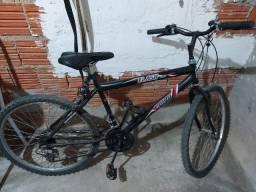 Bicicleta Cairu 24 Masculina Flash Preta