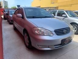 Toyota/ Corolla XEi 1.8, 2004, Gasolina, Completo!