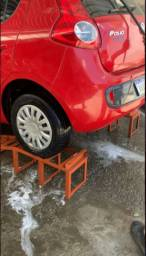 Rampa de limpeza lava car