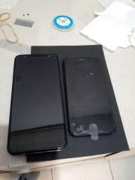 Troca de vidro android e iphone