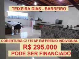 Apartamento no Teixeira Dias Barreiro de Baixo
