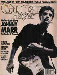 Johnny Marr - Guitar Player 1990