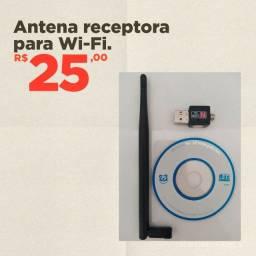 Antena Receptora para WI-FI