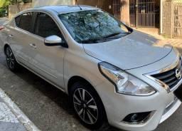 Nissan Versa SL 1.6 16v 18/19 - FlexStart - Automático - Banco de Couro - Impecável
