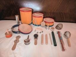 Título do anúncio: Bandinha Rítmica com 20 Instrumentos Infantis