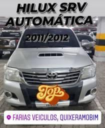 Hilux SRV automática 2011/2012