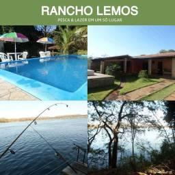 Rancho com piscina para o fim de semana