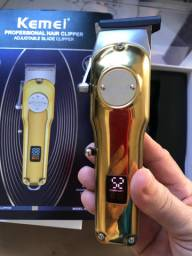 Máquina Kemei Dourada a melhor