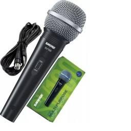 microfone com fio Shure SV100- Promoção e Frete grátis.