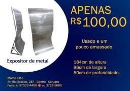 Expositor de Metal
