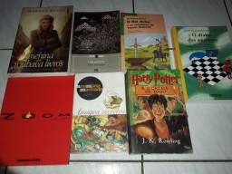 Livros a venda separadamente