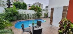 Condomínio (Renaissance) (A.L.U.G.O.) com piscina, 4 suítes, climatizada