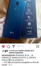 Título do anúncio: Celular LG k12+ (BAIXOU) LEIA O ANÚNCIO
