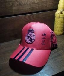 Boné Real Madrid time europeu Adidas