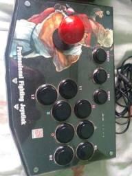Título do anúncio: 2 controles arcades PC PS3