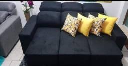 Sofás retratil e reclinavel por apenas 1050 a vista