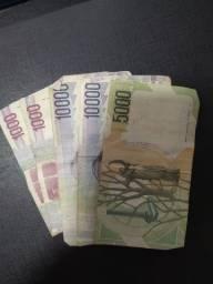 27 mil Liras Italianas para colecionador (Bem conservadas)