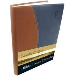 Bíblia Anotada Expandida - Marrom - Bege