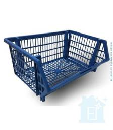 Título do anúncio: Cesto Plastico Azul 22x44x34 - Braslider