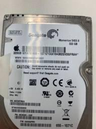 HDD Hd de 320Gb para notebook (ou gaveta de backup)