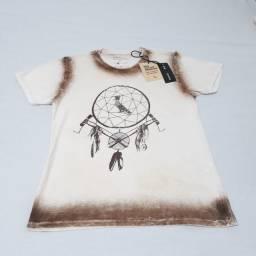 Camisa / Camiseta Reserva Bege Casual; Praia