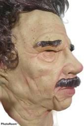 Título do anúncio: Máscara Realista - Velho C/ Cabelo E Bigode + Óculos Do Meme - Nova, sem qualquer uso!