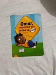 Título do anúncio: Livro Omar o menino que gostava de placas