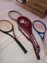 Raquetes profissionais
