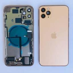 Carcaça Aro Chassi Traseira Completa para iPhones