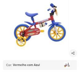 Bicicleta Infantil Aro 12 Masculino Nathor Cairu Water Man<br><br>